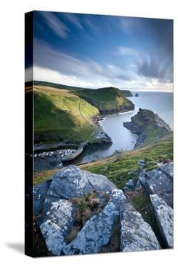 View of Boscastle harbour, North Cornwall, UK by Ross Hoddinott