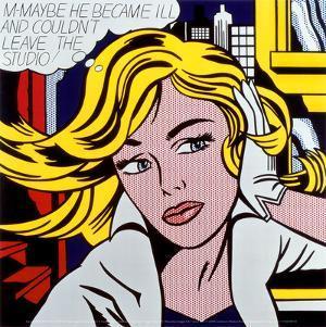 M-Maybe, c.1965 by Roy Lichtenstein