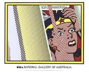 Reflections on Minerva by Roy Lichtenstein