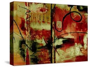 Crimson and Copper II by Ruth Palmer