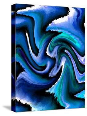 Opulent Blue II by Ruth Palmer