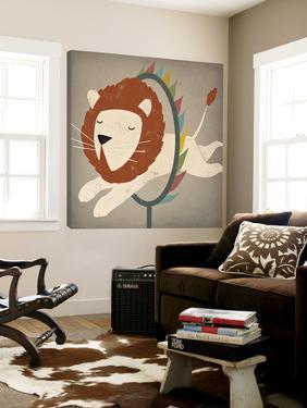 Circus Lion by Ryan Fowler