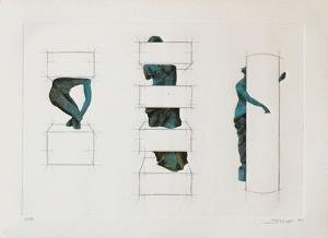 Variations sur la sculpture antique III by Sacha Sosno