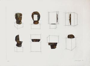 Variations sur la sculpture antique IV by Sacha Sosno