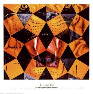 Cinquenta, Tigre Real by Salvador Dalí