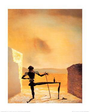 The Ghost of Vermeer by Salvador Dalí