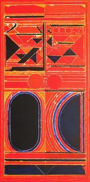 Composition VI by Sayed Haider Raza