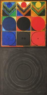 Composition VIII by Sayed Haider Raza