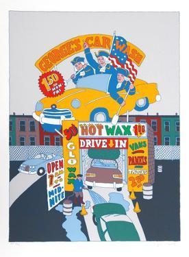 George's Car Wash by Seymour Chwast
