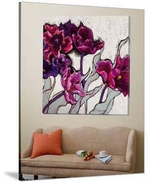 Ruffled Tulips by Shirley Novak