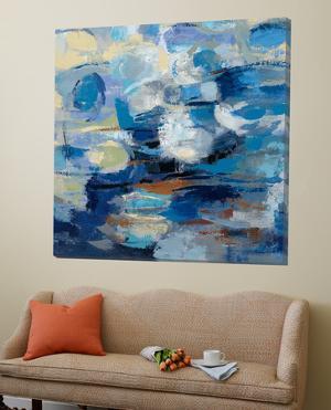 Ultramarine Waves I by Silvia Vassileva