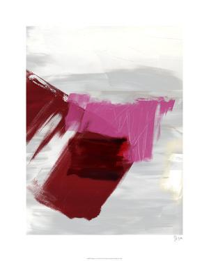 Magenta Abstract II by Sisa Jasper
