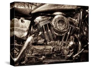 V-Twin Motorcyle Engine by Stephen Arens