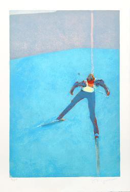 Skiing by Stephen Kuzma