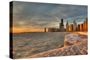 Chicago Sunrise by Steve Gadomski