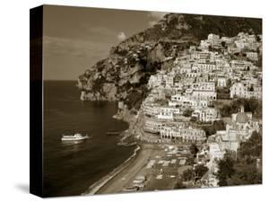 Village of Positano, Amalfi Coast, Campania, Italy by Steve Vidler