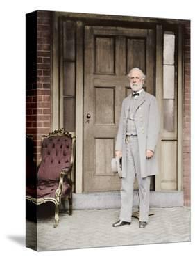 Confederate Army General Robert E. Lee, 1860-1865 by Stocktrek Images