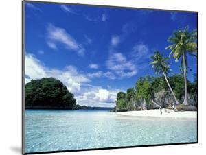 Bay of Honeymoon Island, World Heritage Site, Rock Islands, Palau by Stuart Westmoreland