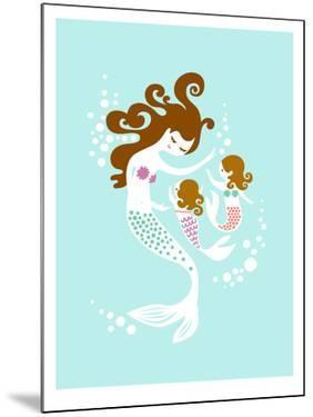 Mermaid Daughters by The Paper Nut