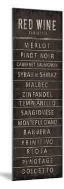 Wine Varieties I by The Vintage Collection