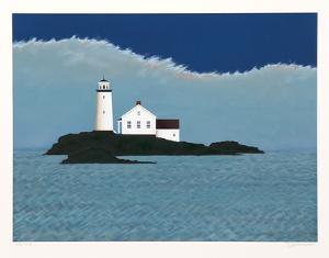 Island Lighthouse by Theodore Jeremenko