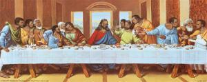 Black Last Supper by Tobey