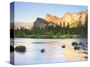 Bridal Falls, Yosemite, California, USA by Tom Norring