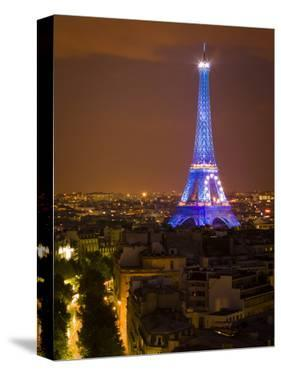 Eiffel Tower. European Union Logo. Paris. France by Tom Norring