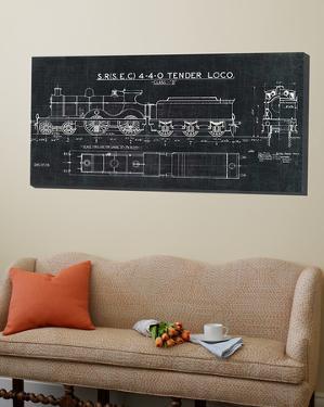 Train Blueprint II Black