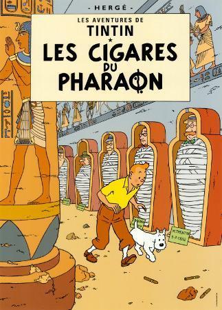 Les Cigares du Pharaon, c.1934