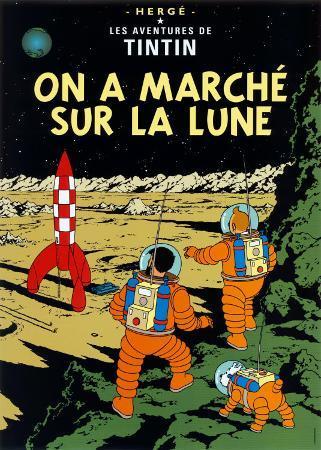 On a Marché sur la Lune, c.1954