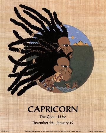 Capricorn (Dec 22-Jan 19)