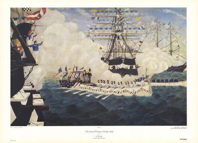 Salute to George Washington in New York