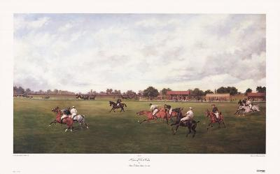 Game of Polo at Rugby