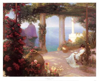 On the Terrace at Capri