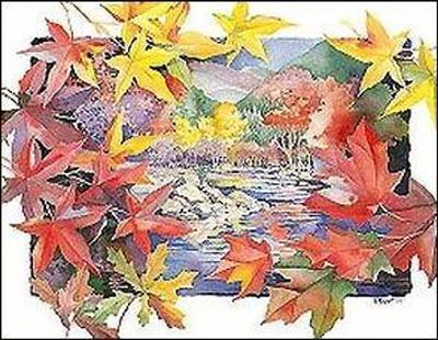 Autumn Vista-Reflections