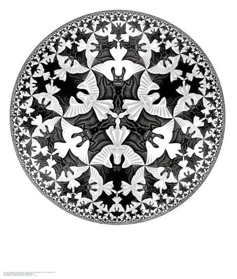 Circle Limit IV Posters by M. C. Escher at AllPosters.com