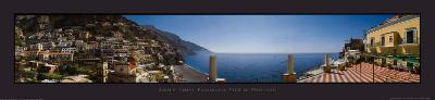 Amalfi Coast Panoramic View Positano