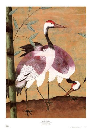 Serenade of Cranes I