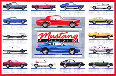 Mustang Tech Console