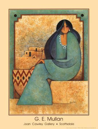 Mujer en Turquesa