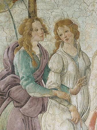 Venus et les Trois Graces (detail)