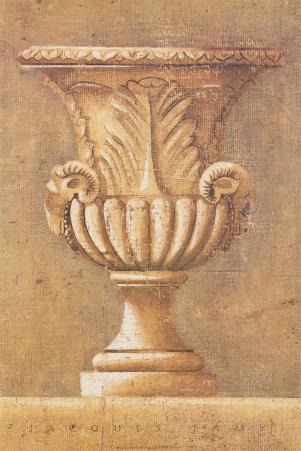 Ram's Motif Urn