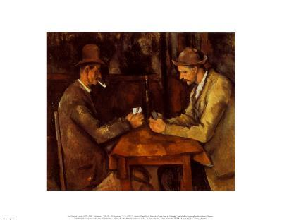 Card Players 1885-90