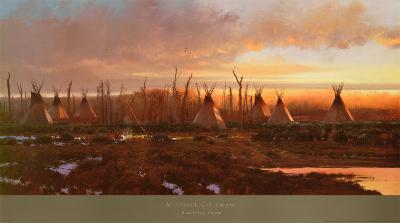 Blackfeet Camp