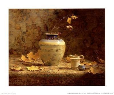 Autumn Leaves and Tapestry