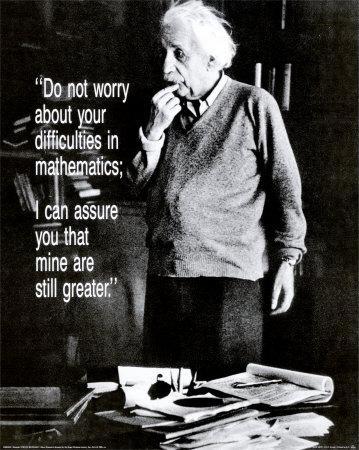Einstein: Do Not Worry