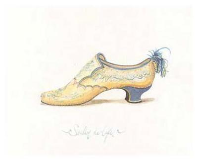 French Shoe, Soulier Deluxe
