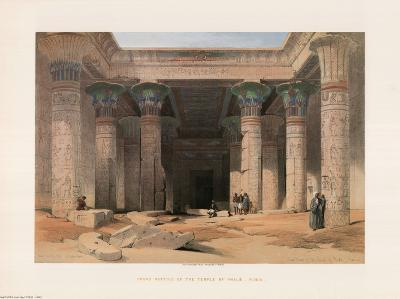 Egypt, Great Portico, Philae