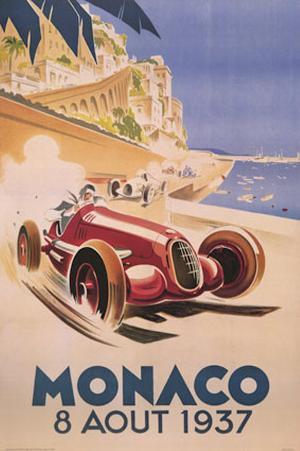 Monaco - August 1937